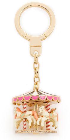 Kate Spade Carousel Keychain