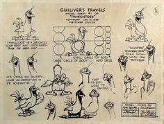 MODEL SHIT OF gULLIVER TRAVEL BY fLAISHER'S STUDIO