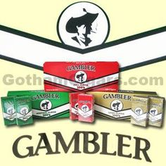 The ever popular roll-your-own cigarette tobacco brand, Gambler, has now entered the cigar world introducing their new line of Filtered Cigars! Pipes And Cigars, Tobacco Pipes, Filters, Popular, Popular Pins, Most Popular