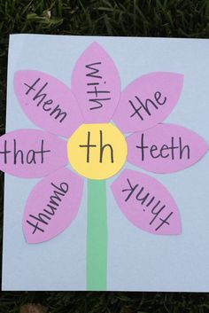 Consonant Digraph Garden - I Can Teach My Child!
