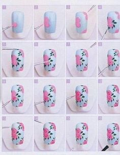 375 Best Nailart Tutorials Tips Stamping Plates Images On