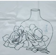 One Stroke Painting, Learn To Draw, Embroidery Patterns, Stencils, Sketches, Make It Yourself, Drawings, Flowers, Paint For Kitchen