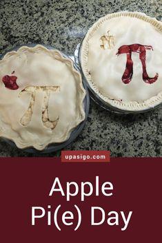 Recipe: Apple Pie for Pi Day from upasigo.com #upasigo #piday #pi #apple #math #nerdy #applepie #dessert #homemade #pie #strawberry #recipe Vanilla Ice Cream, Whipped Cream, Pi Day, Homemade Pie, Pie Dish, Apple Pie, Tart, Nerdy, Vegetarian Recipes