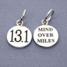 mind over miles.  love this one.  $16 could be great saying for road i.d.  Words on a headband.