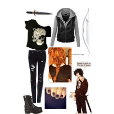 Nico di Angelo Inspired Outfit Made this on polyvore! Hope you like it!
