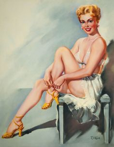 Pop Sexy Underwear Vintage Pin up Girl Poster Classic Retro Kraft Canvas Maps Wall Sticker Home Bar Posters DIY Decor Gift-in Wall Stickers from Home & Garden on AliExpress Posters Diy, Girl Posters, Retro Pin Up, Retro Art, Vintage Pins, Vintage Ladies, Pin Up Pictures, Calendar Girls, Photo Pin