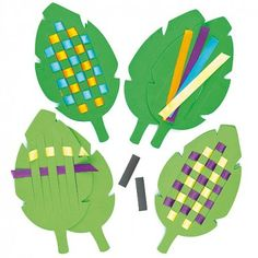 Palm Leaf Weaving Magnets---add verse so child can remember all week