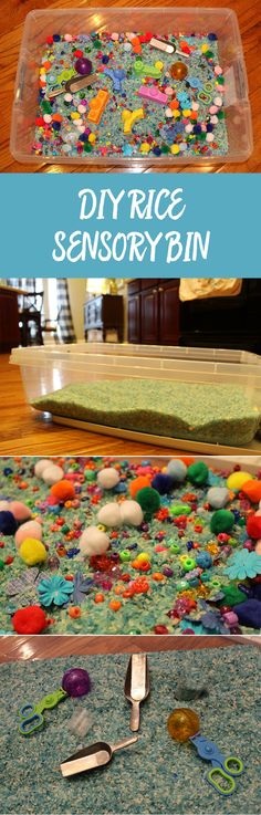 No matter where your child falls on the sensory-needs spectrum, a sensory rice bin is a practical, inexpensive, and fun way for kids to explore, play, and enjoy a sensory experience. Use this tutorial to create your own!