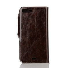 Coque glossy portefeuille pour iphone 7 plus cuir support