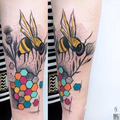Ms Kudu bee tattoo