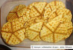 Szénhidrátcsökkentett sajtos tallér Waffles, Biscuits, Low Carb, Bread, Dishes, Breakfast, Food, Party, Crack Crackers