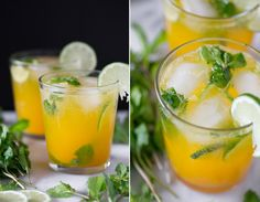 Mojito a drink that in fact, if made clearly, cools a person down in the warm summer months and has the bad climatic conditions sweeter in winter period. Candy Drinks, Yummy Drinks, Mango Mojito, Healthy Recepies, Girl Cooking, Just Eat It, Date Dinner, Cocktail Drinks, Cocktails