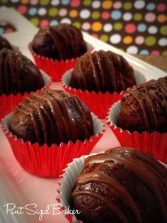 Pint Sized Baker: 1.5 Point Weight Watcher's Brownie Truffles