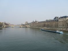 Paris, France – Seine River, separating the right and left bank of Paris