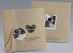 #Hochzeitskarte mit #Einlegekarten für #Standesamt, #Wegbeschreibung, #Antwortkarte und mehr #kreativehochzeitskarten #einladungskarten Black Heart M40-002
