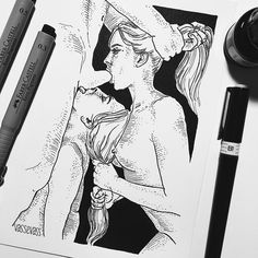 Кто там хотел ЖЖМ♀️ А ещё мне кажется Асю эту «неромантику» лучше рисовать чб. Акварель слишком милая для этого . . . #art #arts_help #artporn #nude #nudeart #watercolor #watercolorpainting #painting #paint #girl #paintporn #erotik #artwork #paintcorrection #pick #illustration #illustrator #drawing #sketchbook #eroticdrawing #lovers #blackandwhiteartwork #couple #goodnight #goodmorning #wine #wordporn #postcard #blackandwhiteisworththefight #blackandwhite