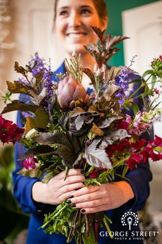 Rustic Wedding Flowers: Tips & Tricks from Fleur, Inc. - for George Street Photo & Video