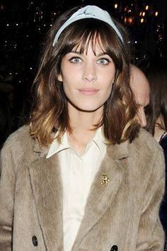 13 ways to style a headband in your hair: Alexa Chung