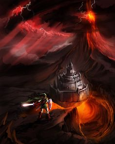 Ganon's Fortress by Timsalcove.deviantart.com on @deviantART
