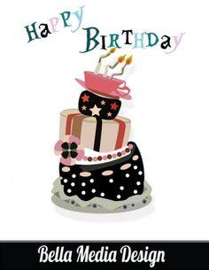 bolo de aniversário louco