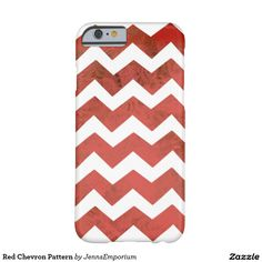 Red Chevron Pattern Barely There iPhone 6 Case. Kiss of Summer Throw Pillow Collection. You will love this Kiss of Summer collection of pillows and the color palette of browns, greens, blues, reds and oranges featuring chevron patterns, butterflies, summer suns and more! Look for other great home decor products too at http://www.zazzle.com/jennsemporium.