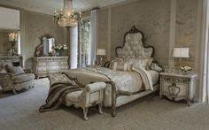 The Platine de Royale Panel Bedroom Collection