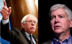 "Bernie Sanders: Gov. Snyder Must Resign, There Is ""No Excuse"" For Poisoning Children! Michigan's Republican Governor, Rick Snyder has perpetrated the biggest mass poisoning in recent history through his willful and knowing negligence. By trying to save a couple dollars and patch the..."