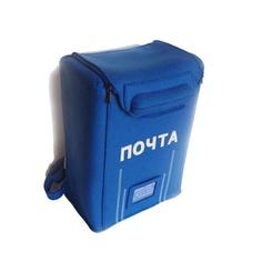 Blue Felt PO Box bag backpack by krukrustudio on Etsy, $140.00