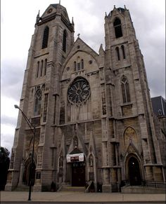 St Ann's Church in Buffalo, NY where Jacob Merkl married Elizabeth Schafberger on October 21, 1891.