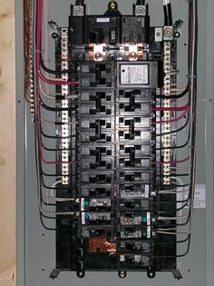 It\'s Electric! How Your Circuit Breaker Panel Works | Pinterest ...