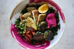 Green Falafel Bowl