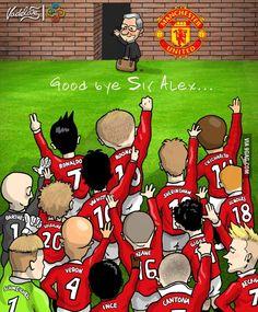 Goodbye Sir Alex, well played, sir!