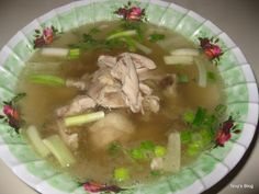 Welcome to Tevy's Kitchen: Cambodian Chicken Soup Chicken Spices, Chicken Soup Recipes, Cambodian Food, Cambodian Recipes, Asian Recipes, Ethnic Recipes, Asian Foods, Laos Food, Asian Cooking