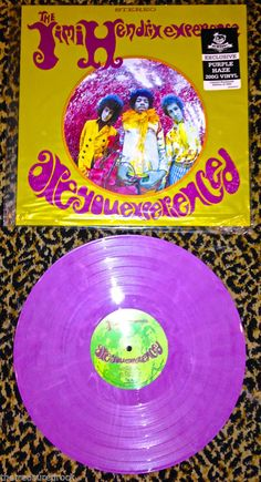 Jimi Hendrix ARE YOU EXPERIENCED PURPLE HAZE colored 200 GRAM VINYL RARE 1500 LP