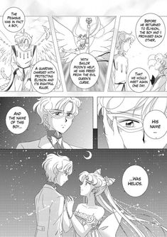 Watching the World Turn — A smaller update, but we're making progress! Sailor Moon Crystal, Sailor Moon Fan Art, Sailor Moon Usagi, Sailor Moon Character, Sailor Uranus, Chibiusa And Helios, Neo Queen Serenity, Princess Serenity, Black Butler Characters