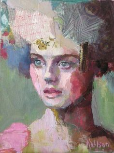 Pink Shoulder by Katie Wilson