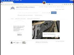 ▶ Configuración para leer documentos de la Biblioteca Digital Hispánica - YouTube