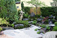 Popular Wellness im Teegarten japanischer Garten in Niedersachsen mit Teehaus Atmosph re und kleinem Teich vorgestellt von Dr Wolfgang Hess