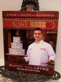 Cake Boss Buddy Valastro TLC TV Show Stories Recipes Baker Carlos Bake Shop NJ