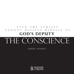 Even the atheist cannot relieve himself of God's deputy: the conscience #VoicesFromthePast