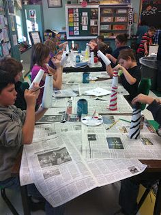 Art Room 104: After School Program Projects