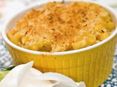 roasted butternut squash and goat cheese macaroni.