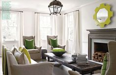 Colour pop cushions - Splendid Sass: KAY DOUGLASS ~ DESIGN IN ATLANTA'S BUCKHEAD