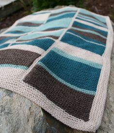 Ravelry: Beach Baby Blanket pattern by Amanda Lilley