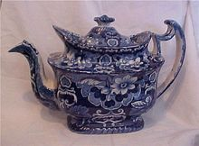 Clews English Teapot early 1800's
