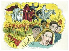 The Rapture vs. the Second Coming of Christ: Biblical End Times Illustration - The message is simply be ready . . .