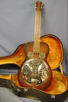 Image Detail for - Dobro Style 55/56 Original Wood Body Resonator Guitar | Dobro Guitar