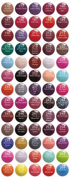 Signature Nail System SNS 1 Oz Dipping Powder Pre-Bond Color 1-350 Free Shipping 3