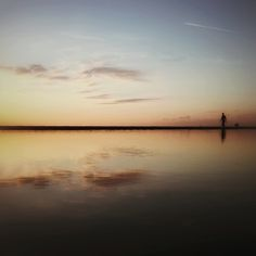 #atardecer en la #playa de Latas #cantabria #spain #seascapes #nature #naturaleza #sunset #beach #personicas #snapseed