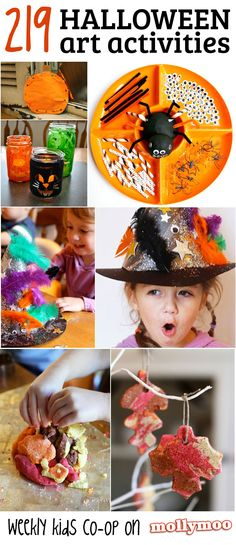 Incredible collection of Halloween art activities, with top picks from MollyMoo